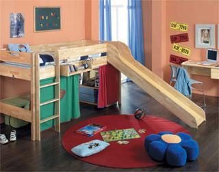 abenteuerbett kinderbett und spielbett in einem m bellexikon. Black Bedroom Furniture Sets. Home Design Ideas