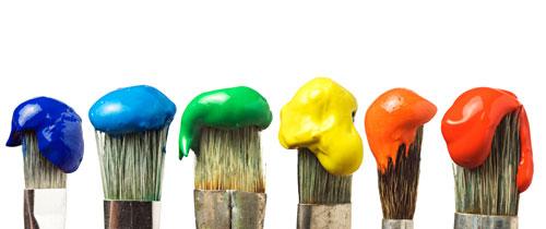 Mit der richtigen Farbauswahl Räume optisch vergrößern ...