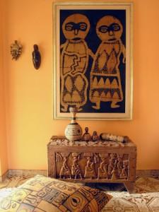 Afrikanische Dekoration