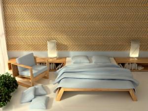 Schlafzimmer im Long Island Stil