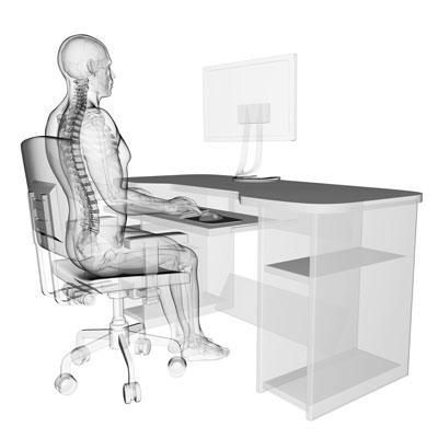 effizient und gesund arbeiten mit individuellen ergonomischen b rost hlen m bellexikon. Black Bedroom Furniture Sets. Home Design Ideas